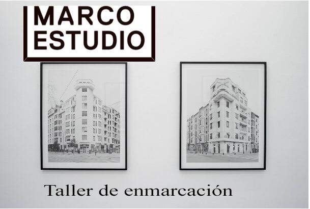 Marco Estudio Norte Taller de enmarcación, especializado en soportes fotográficos especiales, montajes museísticos y de exposición, passpartout, dibond, etc.